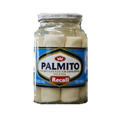 Palmito açai inteiro - Recall - 300g