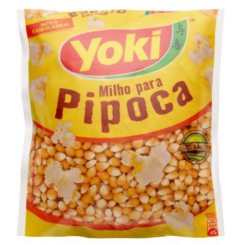 Milho de pipoca - Yoki - 500g
