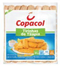 Tirinhas de tilapia congelado - Copacol