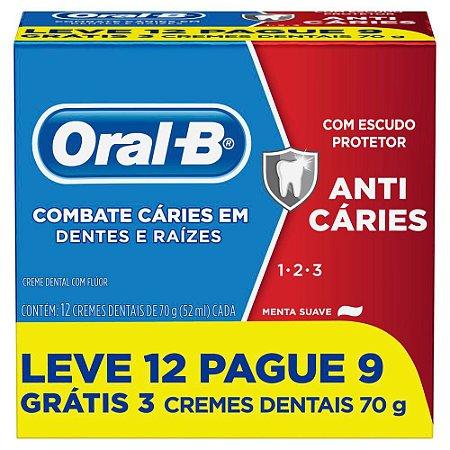 Creme dental 123 anti caries - Oral B