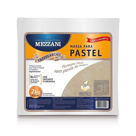 Massa para pastel quadrada - Mezzani - 2kg