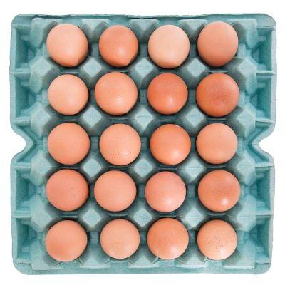 Ovos vermelhos caipira - 20 unidades