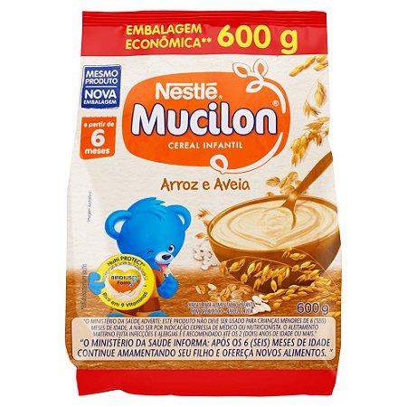 Mucilon arroz e aveia - Nestle - 600g
