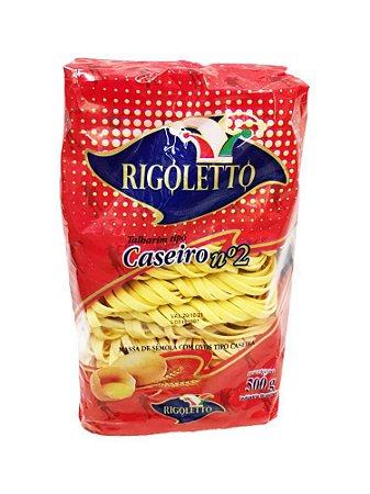 Macarrao talharim caseiro n2 - Rigoletto - 500g