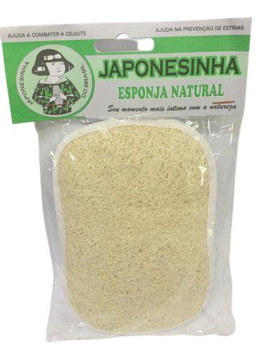 Esponja natural - Japonesinha - 1un