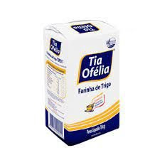 Farinha de trigo branca - Tia ofelia - 1kg