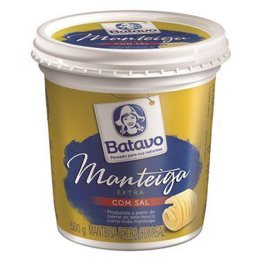 Manteiga com sal - Batavo - 500g