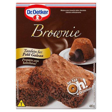 Mistura para bolo sabor brownie - Dr. oetker - 400g