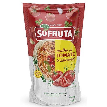 Molho de tomate tradicional - Sofruta - 340g