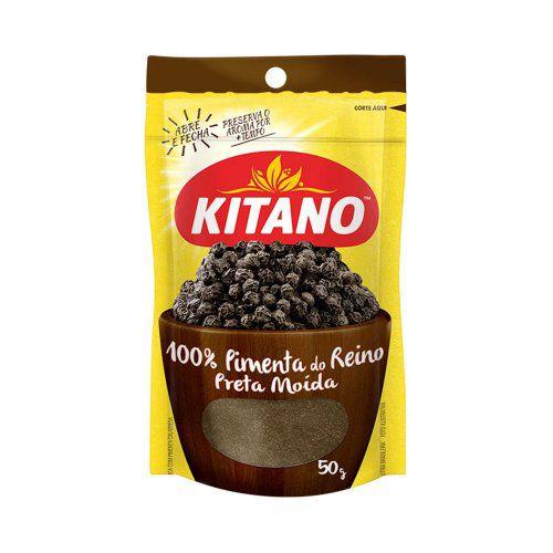 Pimenta do reino em pó - Kitano - 50g