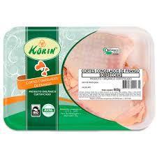 Sobrecoxa de Frango 600gr - Orgânico - Korin congelado