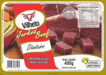 CARNE SECA DIANTEIRO - VILHETO - 400g