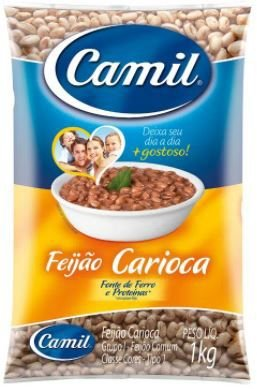 FEIJAO CARIOCA TIPO 1 - CAMIL - 1kg