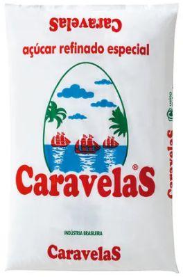 Açucar refinado - Caravelas - 1kg