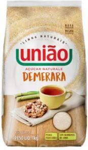 AÇUCAR DEMERARA - UNIAO - 1kg