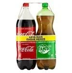 KIT COCA-COLA 2 LT + FANTA GUARANA 2 LT
