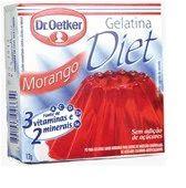 Gelatina diet sabor morango - Dr. oetker - 12g