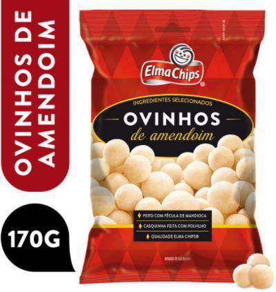Ovinhos de amendoim - Elma chips - 170g