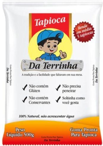 Goma de mandioca - Da terrinha - 500g