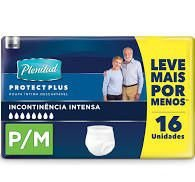 FRALDAS ROUPA INTIMA PLENITUD PROTECT PLUS ATACADO P/M - 16 UNIDADES