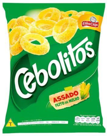 SALGADINHO CEBOLITOS - 60g