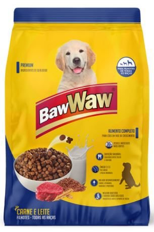ALIMENTO PARA CAES BAW WAW - 6kg