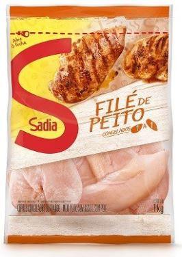 FILE DE PEITO DE FRANGO CONGELADO SADIA - 1kg