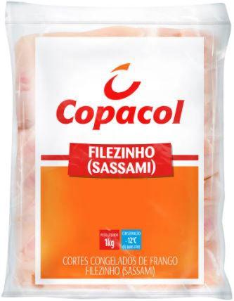 Filezinho de frango sassami - Copacol - 1kg