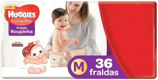 FRALDA HUGGIES ROUPINHA - 36un