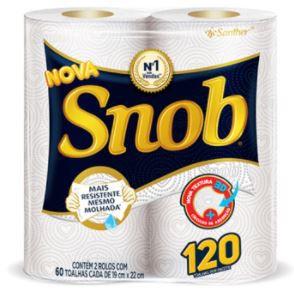 Papel toalha - Snob - 2un