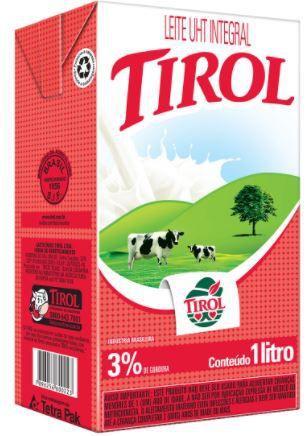 Leite longa vida integral - Tirol - 1L