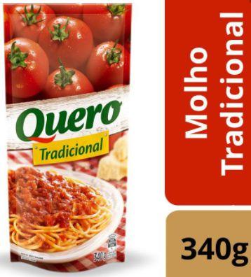 Molho de tomate tradicional - Quero - 340g
