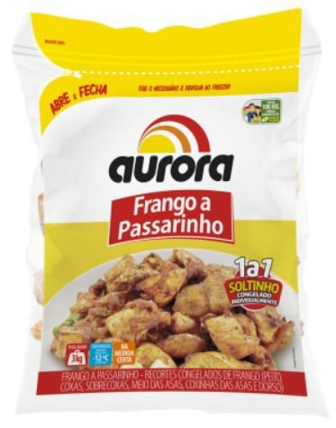 FRANGO A PASSARINHO CONGELADO AURORA - 3kg