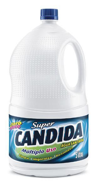 AGUA SANITARIA SUPER CANDIDA - 5 L