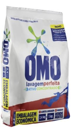 DETERGENTE EM PO OMO - 2,4kg