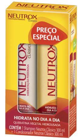 KIT SHAMPOO+CONDICIONADOR NEUTROX - 300mL