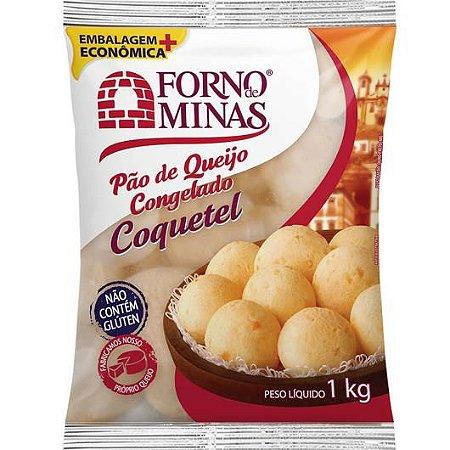 Pao de queijo coquetel - Forno de minas - 1kg