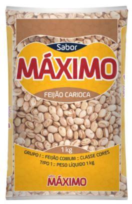 FEIJAO CARIOCA - MAXIMO - 1kg