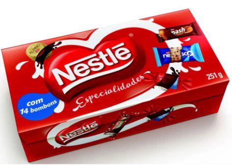 Bombom especialidades - Nestle - 251g