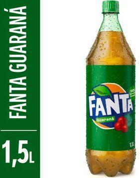 Refrigerante guarana - Fanta - 1,5L
