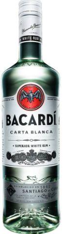 RUM CARTA BLANCA - BACARDI (980mL)