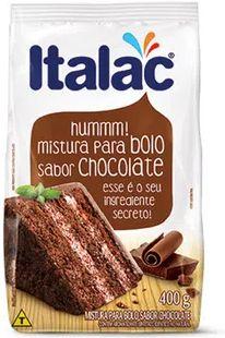 MISTURA PARA BOLO SABOR CHOCOLATE - ITALAC - 400g
