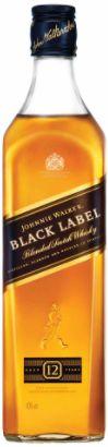 Whisky black label 12 anos - Johnnie Walker - 1L