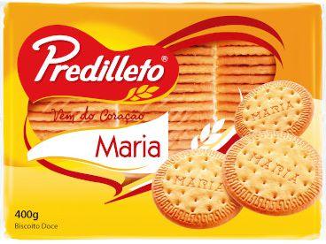 BISCOITO MARIA - PREDILLETO - 400g