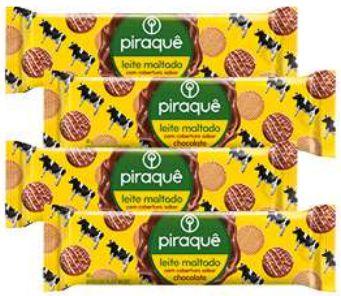 Biscoito de leite maltado - Piraque - 160g