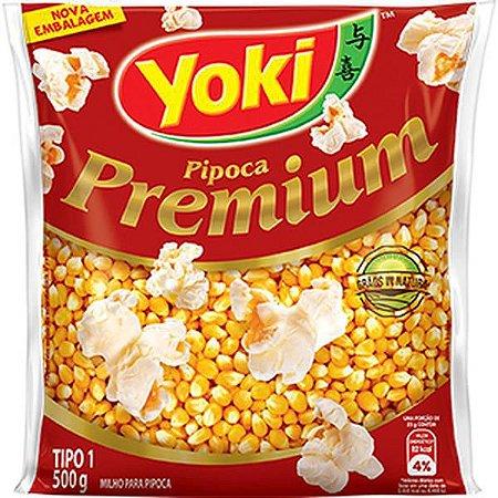 Milho de pipoca premium - Yoki - 500g