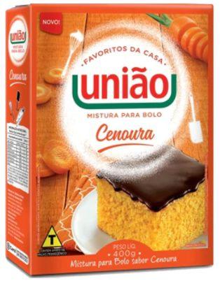 Mistura para bolo - Uniao - 400g