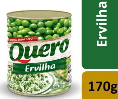 Ervilha em lata - Quero - 170g
