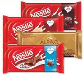 Chocolate em barra - Nestle - 90g