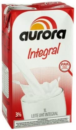 LEITE INTEGRAL - AURORA - 1L